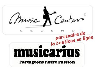 Music Center Legend est paretenaire de la boutique en ligne Musicarius.com